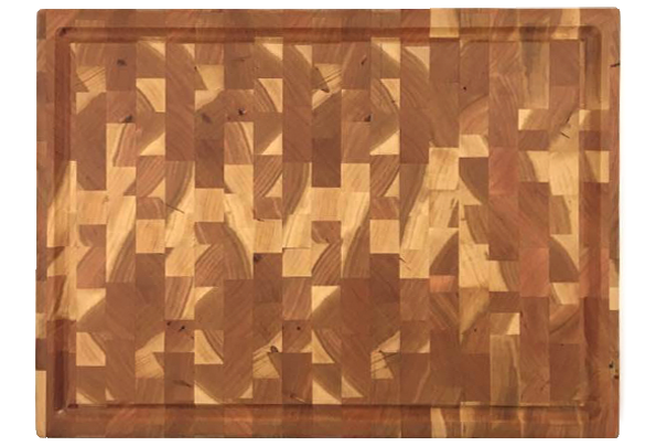 Large end grain cherry butcher block