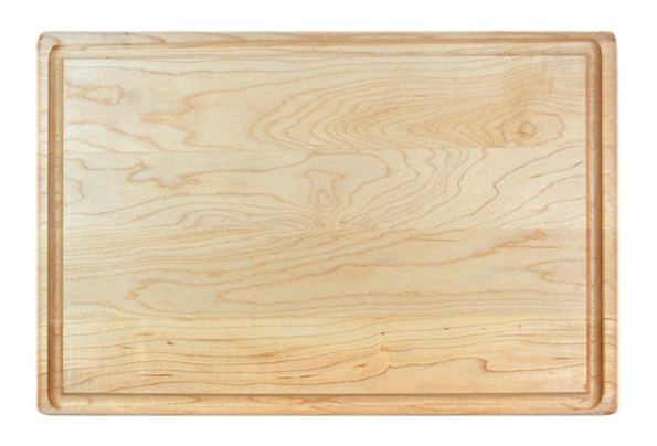 MAPLE 1 1/4 INCH BUTCHER BLOCK WITH JUICE GROOVE