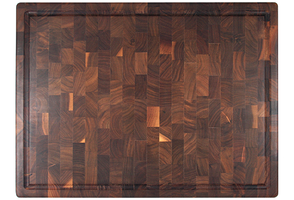 Large end grain walnut butcher bloc